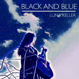 Cover Black and Blue Luna Keller