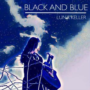 Cover Black and Blue Luna Keller