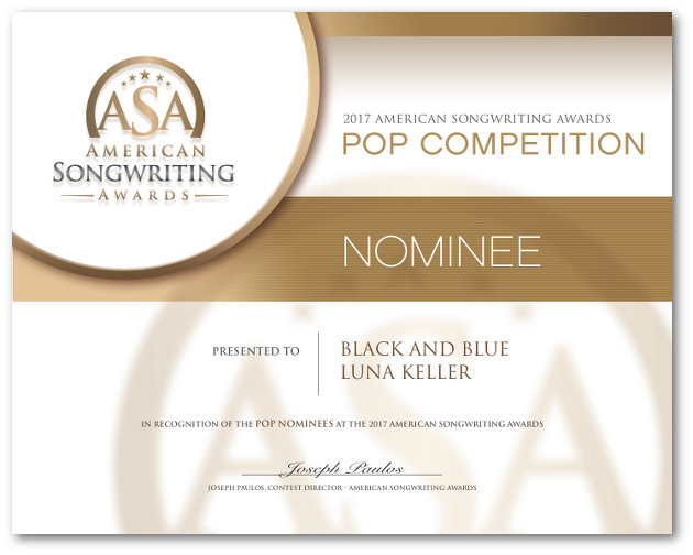 black_and_blue_American_Songwriter_Nominee