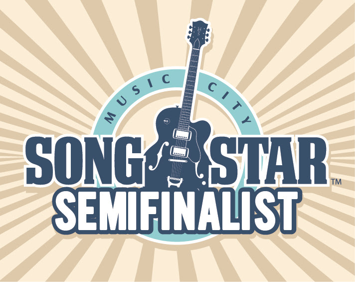 Luna Keller with Burning House for the Music City Songstar award in Nashville