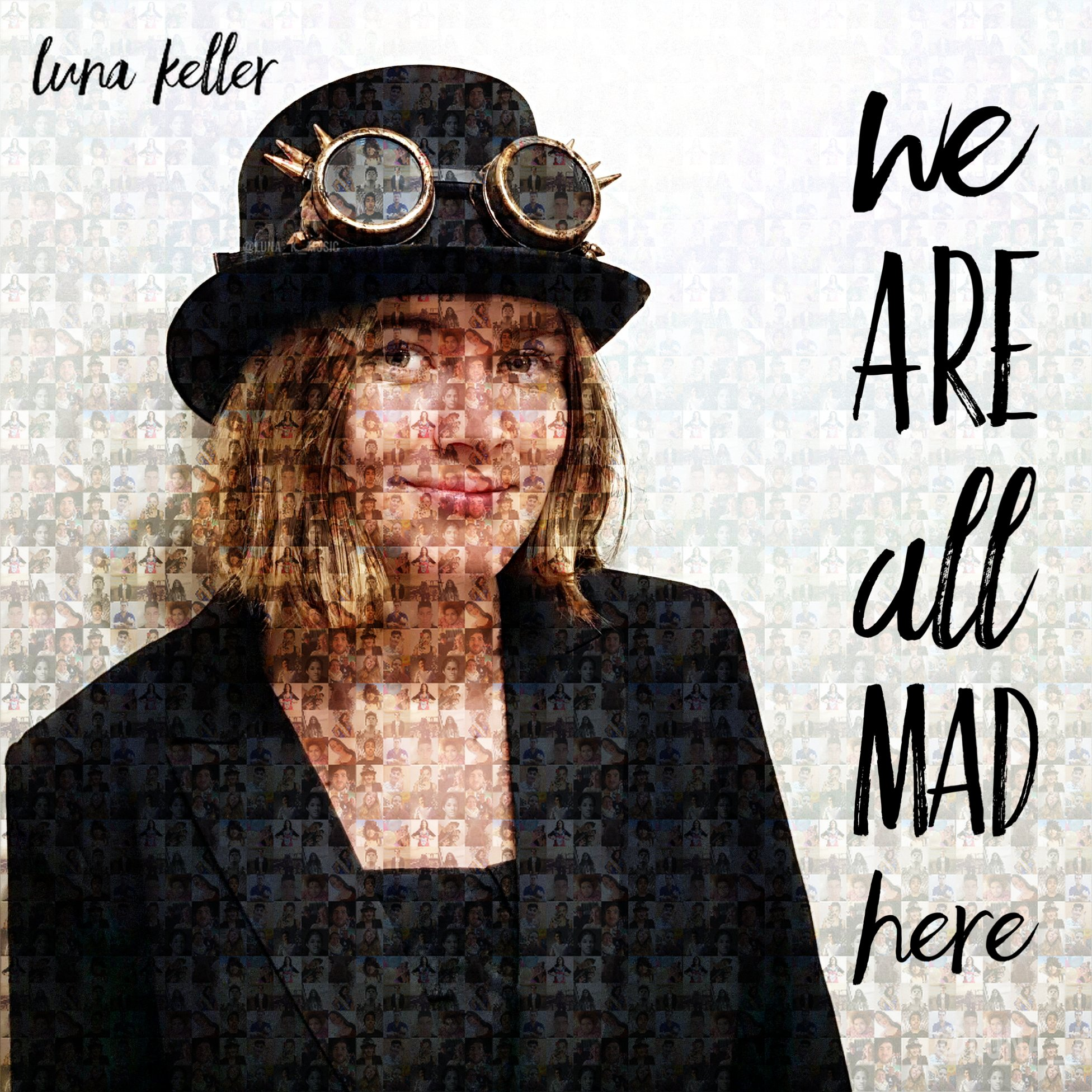 We are all mad here cover
