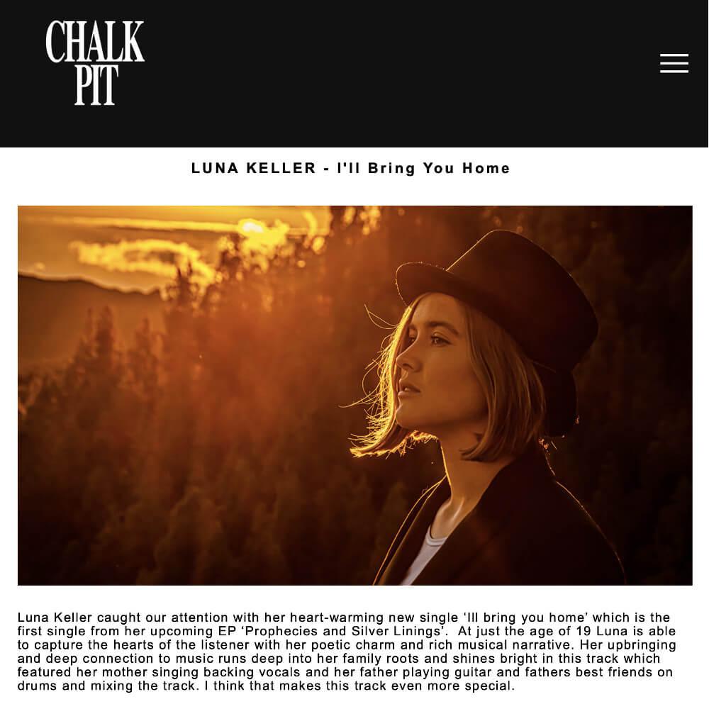 Luna Keller - Chalk Pit Records