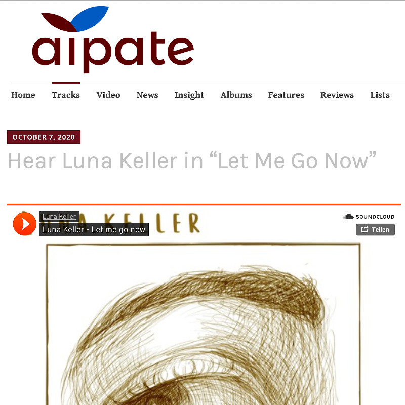 Aipate review about Let me go now by Luna Keller