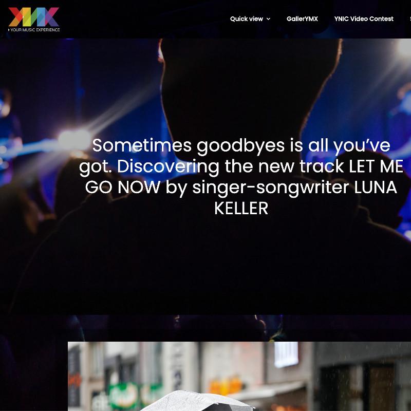 YMX - Let me go now - Luna Keller