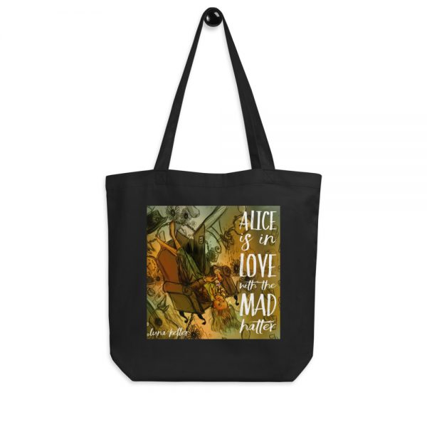 Alice is in Love With The Mad Hatter - tote bag