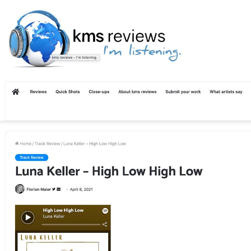 KMS Review - High Low High Low - Luna Keller