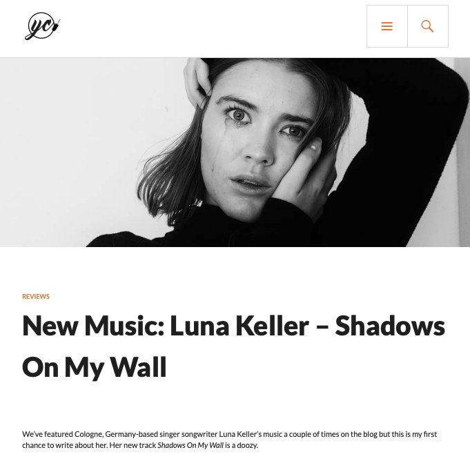 York Calling - Luna Keller - Shadows on my wall